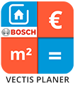 Logo VECTIS Bosch Smart Home Planer App